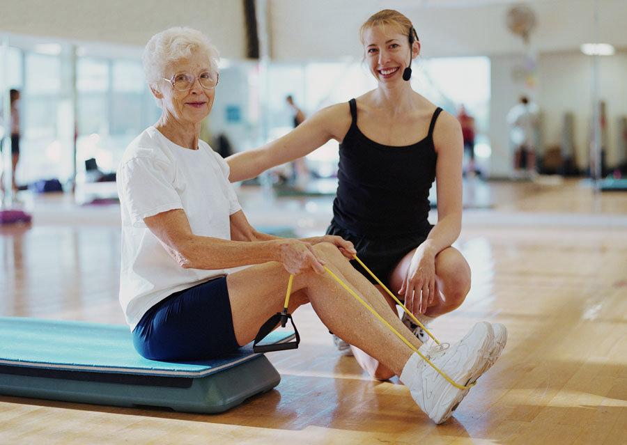 Фитнес для Пожилых