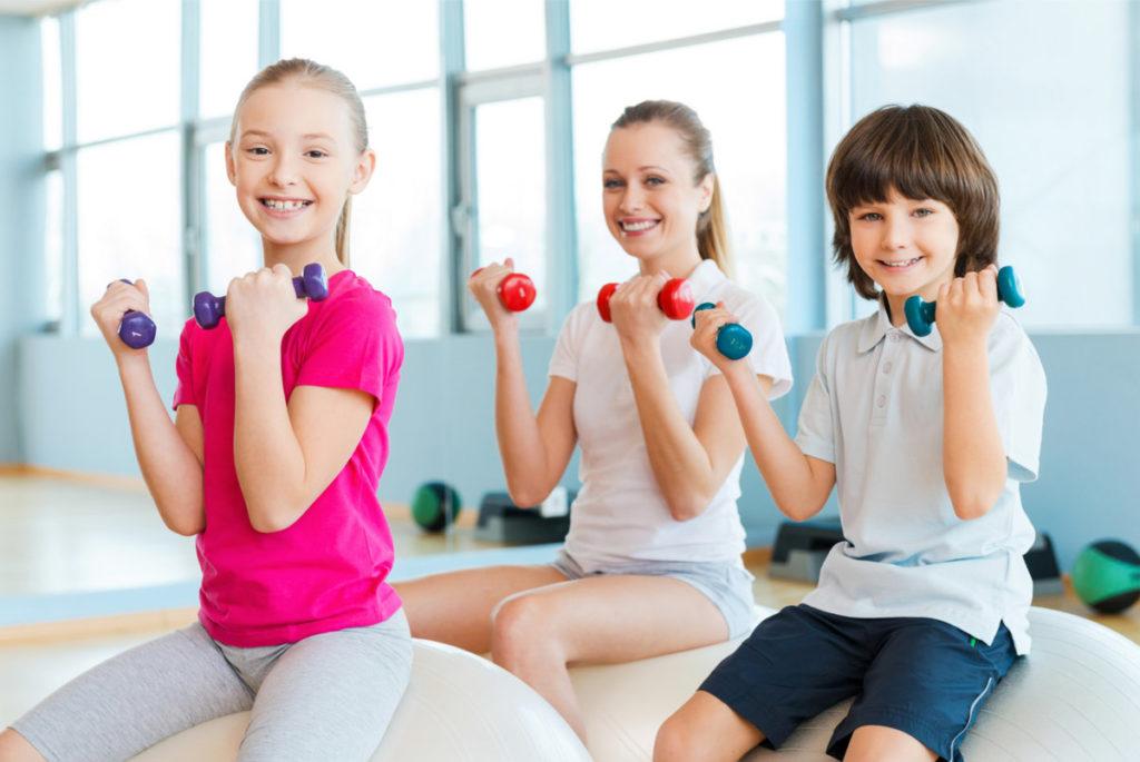Фитнес для Детей